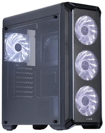 Zalman - Ház - Zalman Chasis i3 Series Simple Design fekete Mid Tower ház 07d8aedc75