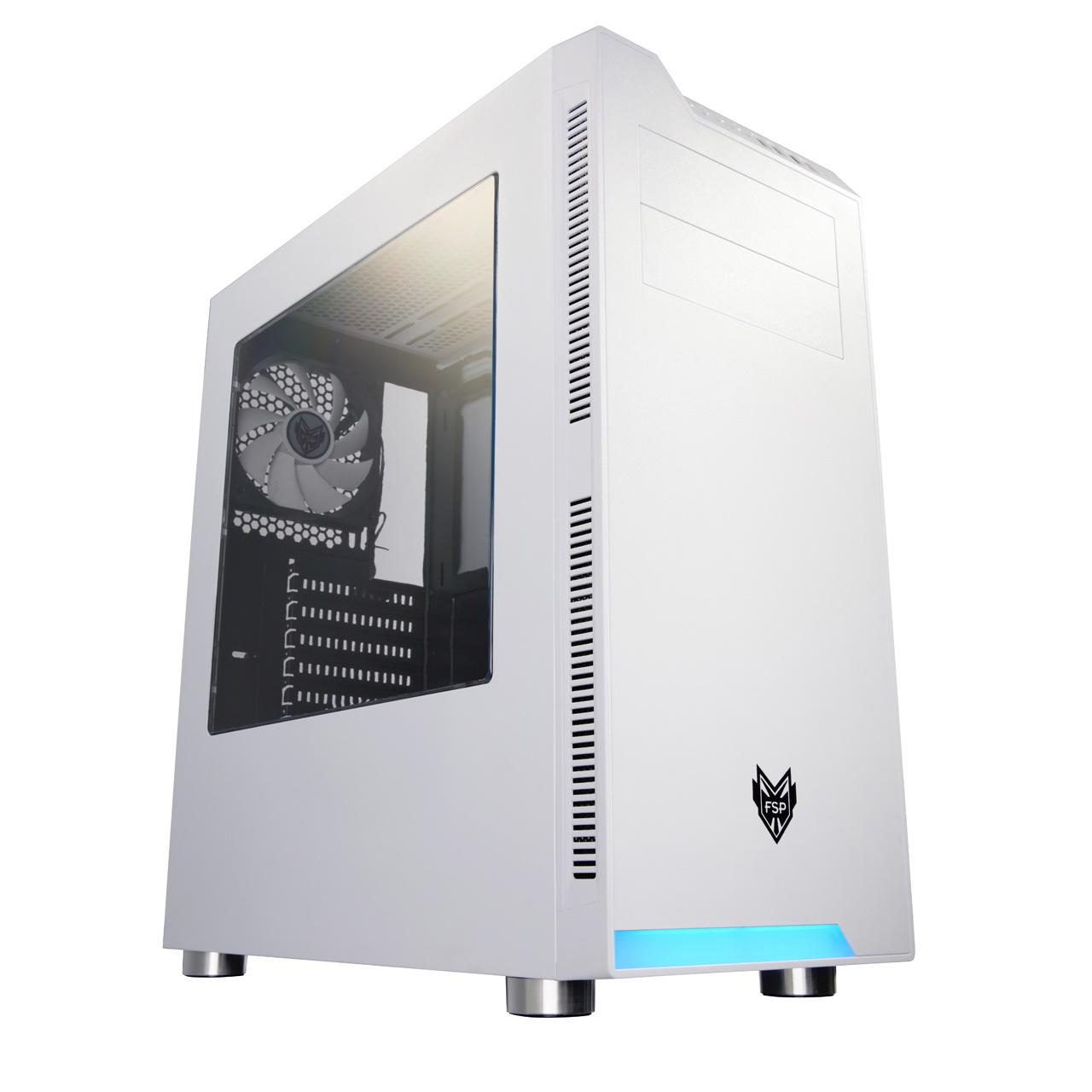 PC-Sziget Info Kft Webshop - FSP - Ház - FSP CMT240 fehér Midi ATX ... 0461945c81