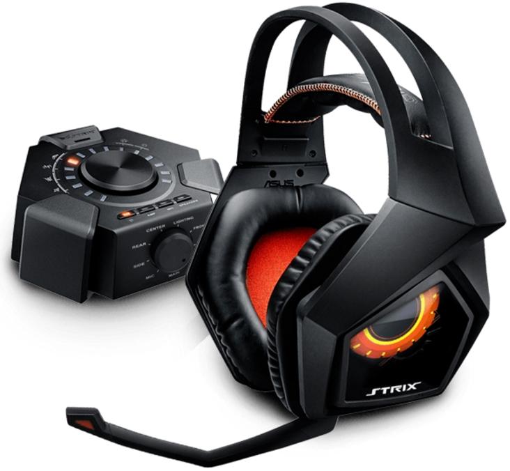 ASUS - Fejhallgató és mikrofon - Asus Strix 7.1 gamer fejhallgató + mikrofon  ... c53bf89625