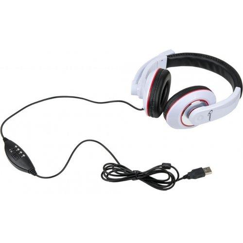 Gembird - Fejhallgató és mikrofon - Gembird MHS-001-GW Stereo mikrofonos  USB fejhallgató ... 81633f0ad8