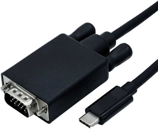 Roline 2m USB Type C - VGA (D-SUB) M-M kábel c9aefc815f